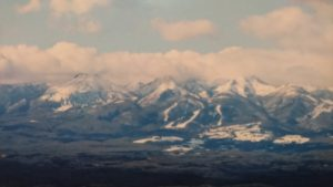 関山から見た那須連峰