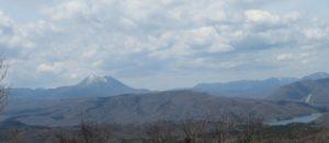 権太倉山山頂の光景