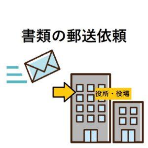 書類の郵送依頼