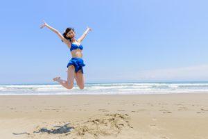 ジャンプアップ女性