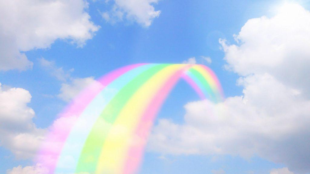 開業1周年虹の架け橋
